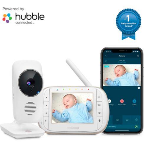 Moniteur vidéo pour bébé Wi-Fi HD Motorola MBP668, 3,5 po