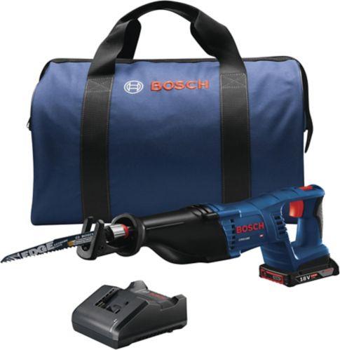 Bosch 18V D-Handle Reciprocating Saw Kit, 4-pc