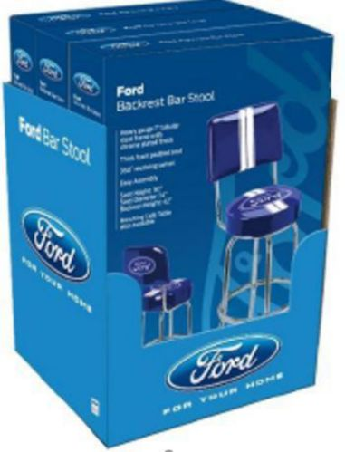 Ford Bar Stool with Back, 30-in