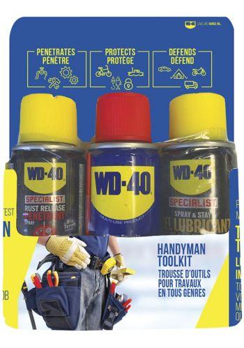 Ensemble d'outils tout usage pour bricoleur WD-40, paq. 3