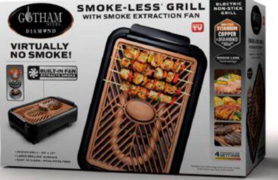 As Seen On TV Gotham Steel Smokeless Grill with Fan