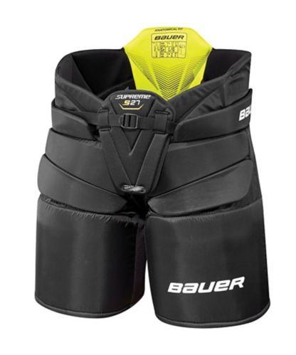 Culotte de hockey pour gardien de but Bauer Supreme S27, junior, noir
