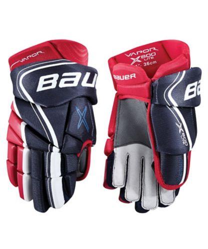 Bauer Vapor X800 Lite Hockey Gloves, Senior, 14-in