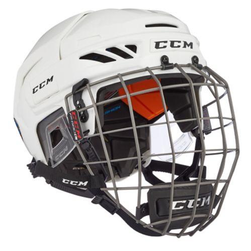 Ensemble de casque de hockey CCM FitLite 90, blanc