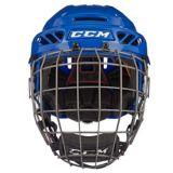 CCM FitLite 90 Hockey Helmet Combo, Royal Blue   CCMnull