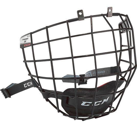 CCM 580 Hockey Helmet Facemask, Senior, Black