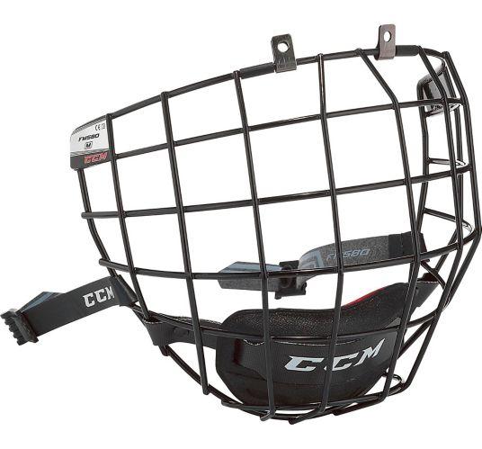 CCM 580 Hockey Helmet Facemask, Senior, Silver