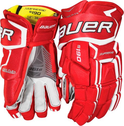 Gants de hockey Bauer Supreme S190, junior, 12 po