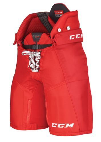 CCM Jetspeed FT390 Hockey Pants, Red, Junior