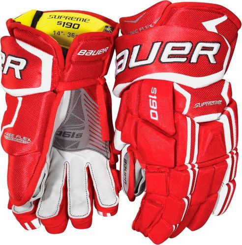 Bauer Supreme S190 Hockey Gloves, Senior, 13-in