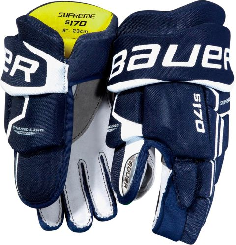 Bauer Supreme S170 Hockey Gloves, Youth, 9-in
