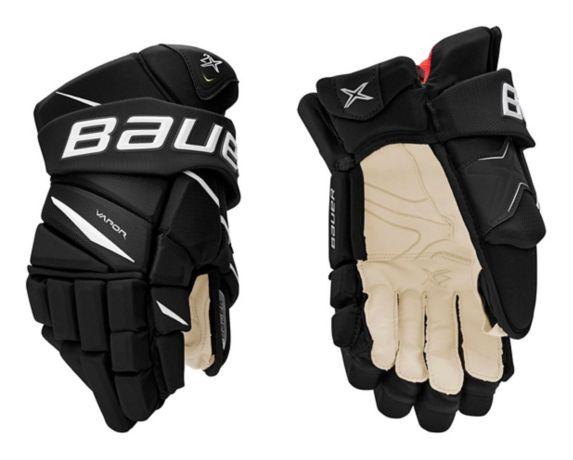 Gants de hockey Bauer Vapor2X, sénior, noir/blanc