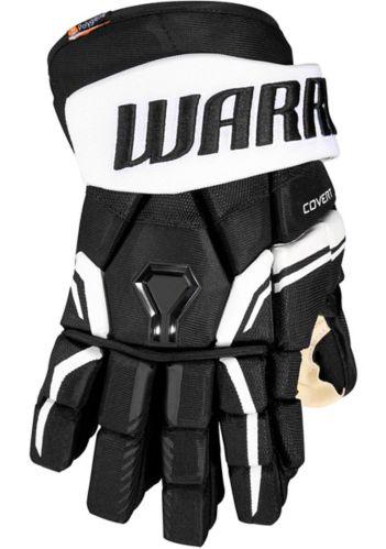Warrior QRE Pro2 Hockey Gloves, Junior, Black/White