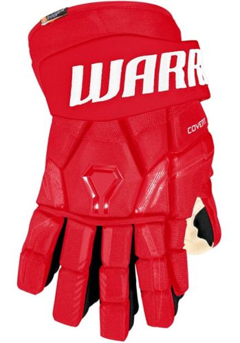 Warrior QRE Pro2 Hockey Gloves, Junior, Red Product image
