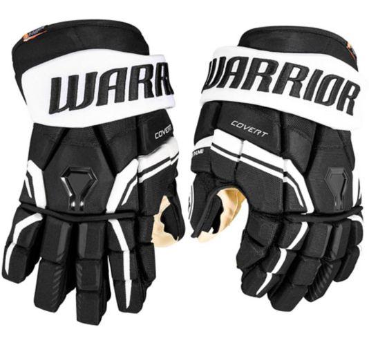 Warrior QRE Pro 2 Hockey Gloves, Senior, Black Product image
