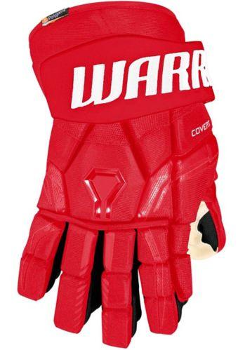 Warrior QRE Pro 2 Hockey Gloves, Senior, Red