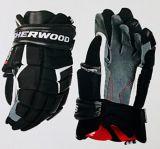 Gants de hockey SherwoodCode5, sénior, bleu marine/rouge/blanc   Sherwoodnull