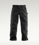 WASHED TWILL RELAXED FIT DUNGAREE