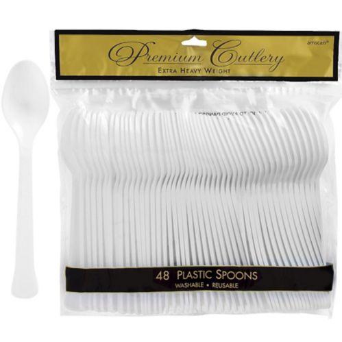 Premium Plastic Spoons, 48-pk Product image