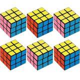 Cubes casse-tête, paq. 6 | Amscannull