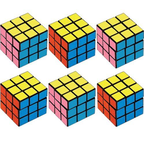 Puzzle Cubes, 6-ct