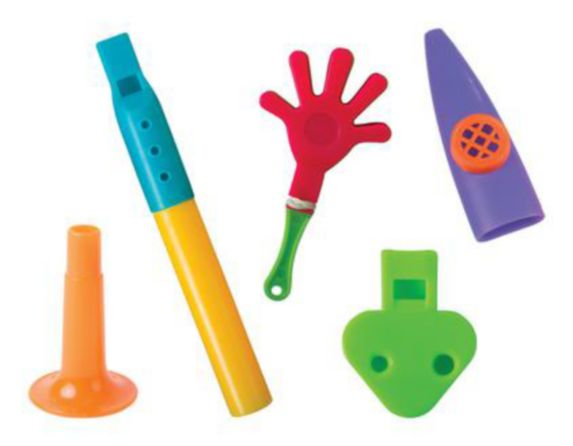Party Noisemakers, 100-pk Product image