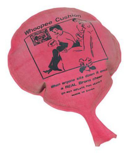Pink Whoopee Cushions, 12-pk