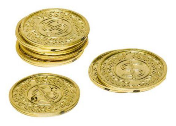 Gold Coins, 400-pk