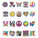 Tatouages pour préadolescents, paq. 24 | Amscannull