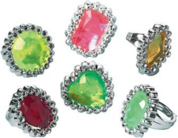 Jewel Rings, 18-pk Product image