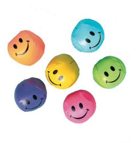 Balles molles souriantes, paq. 12