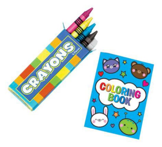 Groovy Colouring Kits, 12-pk