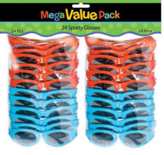 Lunettes de soleil sport multicolores, paq. 22 Image de l'article