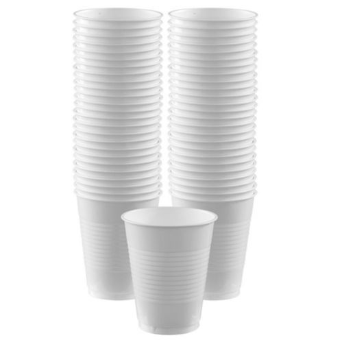 Clear Plastic Cups, 50-pk