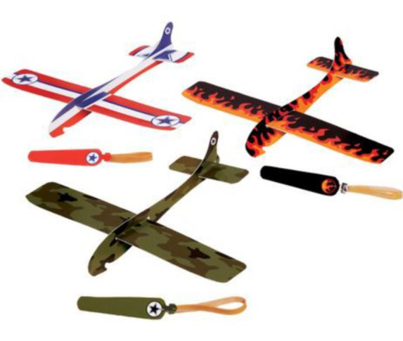Airplane Gliders, 12-pk Product image