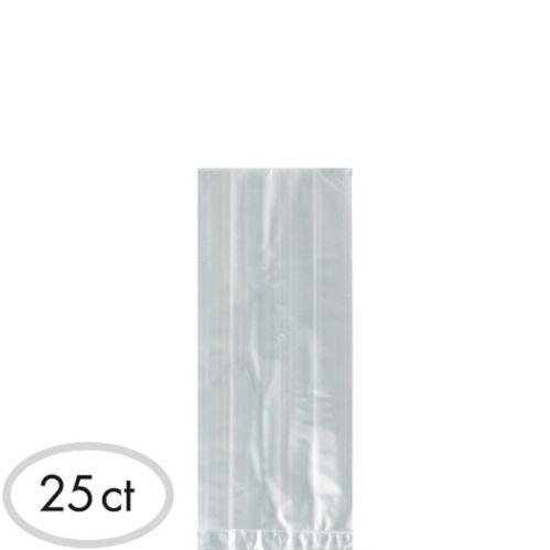 Petits sacs à surprises en plastique transparent, paq. 25 Image de l'article