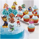 Battle Royal Cake Toppers, 12-pk | Amscannull