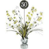 Sparkling Celebration 50th Birthday Spray Centerpiece | Amscannull