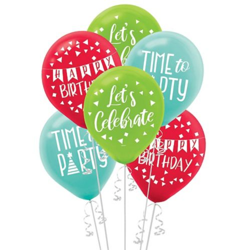 A Reason to Celebrate Balloons, 15-pc