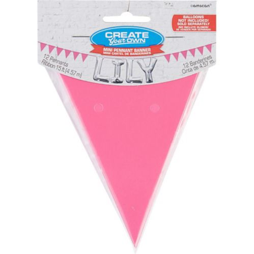 Mini Create Your Own Pennant Banner