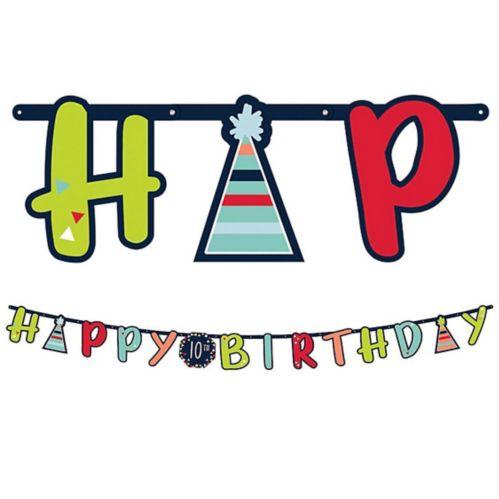A Reason to Celebrate Birthday Banner Kit