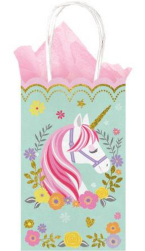 Magical Unicorn Kraft Bags, 10-pk