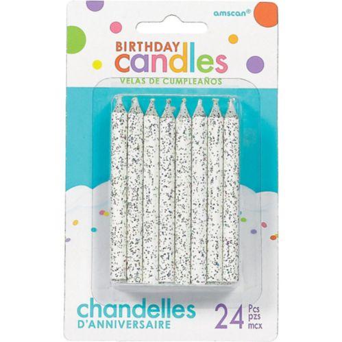 Bougies d'anniversaire scintillantes, paq. 24 Image de l'article