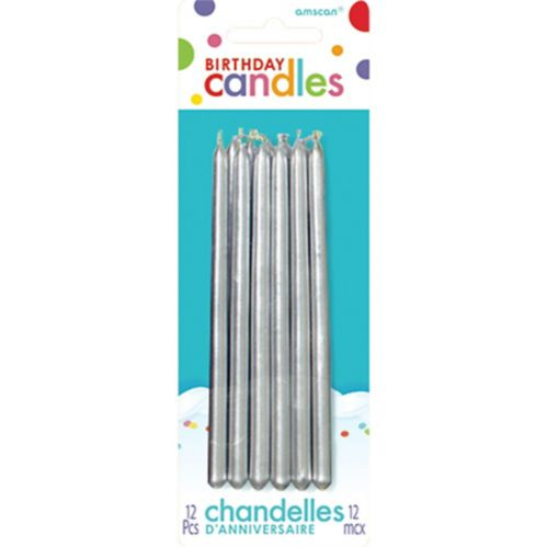 Tall Birthday Candles, 12-pk Product image