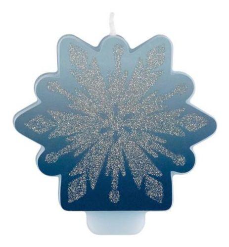 Glitter Frozen 2 Birthday Candle
