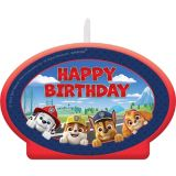 PAW Patrol Adventures Birthday Candle