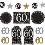 Sparkling Celebration 60th Birthday Room Decorating Kit, 10-pc