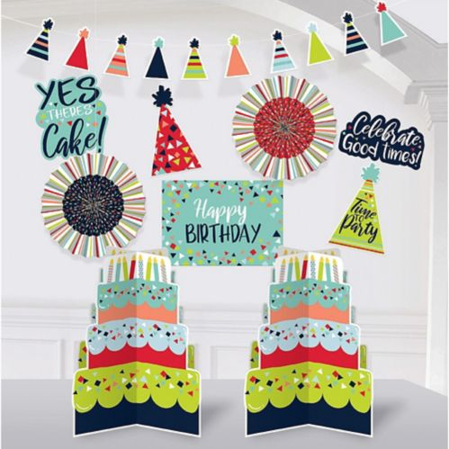 A Reason to Celebrate Room Decorating Kit, 10-pc
