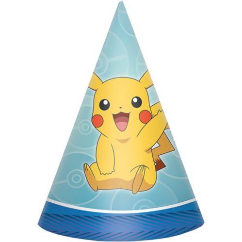 Chapeaux de fête Pokémon Core, paq. 8 Image de l'article