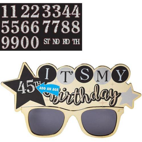 Sparkling Celebration Birthday Sunglasses Kit